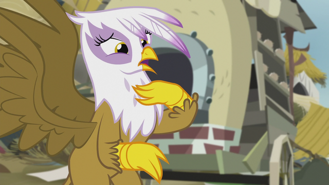 "File:Gilda ""spread friendship here by myself?!"" S5E8.png"