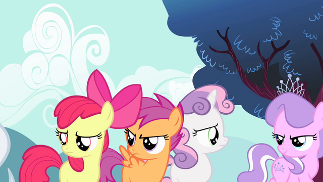 File:Diamond Tiara and Silver Spoon mocking CMC 2 S4E05.png