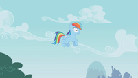 Rainbow Dash hears Pinkie Pie S01E05