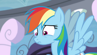 Rainbow afraid that she failed S4E21
