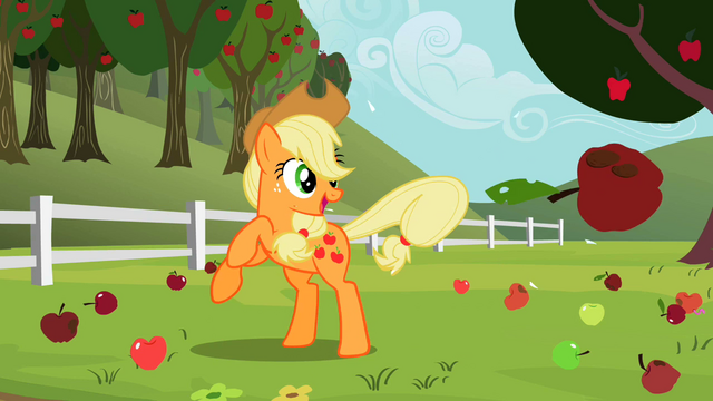 File:Applejack getting rid of bad apples S2E05.png