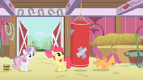 CMC with a punching bag S4E05