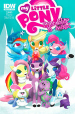 Comic issue 26 Hot Topic cover