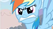 Rainbow Dash angry S2E15