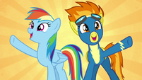"Rainbow and Spitfire ""soaring higher!"" S6E7"
