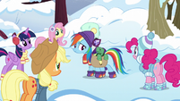 Rainbow approaches Tank's hibernating spot S5E5