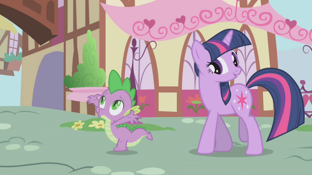 File:Twilight denying Spike's compliment S1E6.png