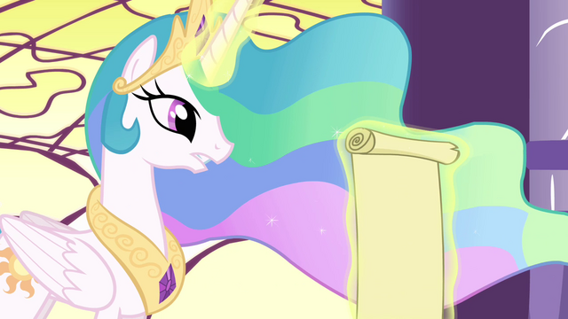 File:Celestia reads scroll S3E01.png