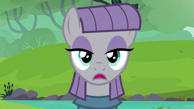 "File:Maud Pie deadpan ""hey"" S6E3.png"