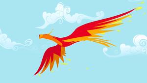 Philomena soaring in sky S1E22