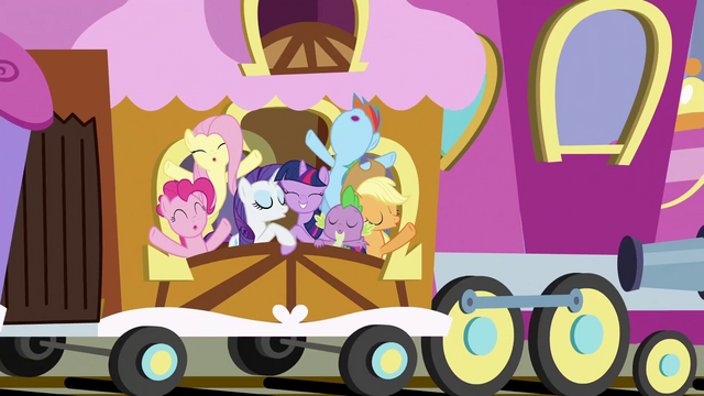File:Ponies on train for Ponyville 2 S3E2.png