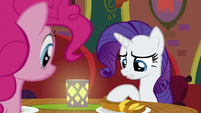 "Rarity ""the food is excellent"" S6E12"
