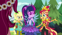 """Sunset Shimmer """"in the crystal cave!"""" EG4"""