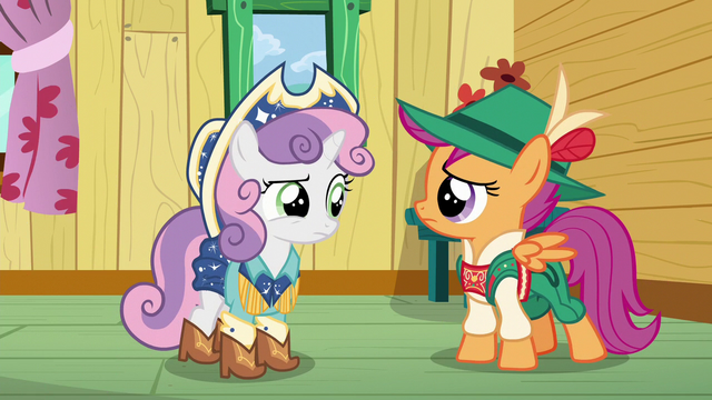 File:Sweetie Belle and Scootaloo confused S6E4.png