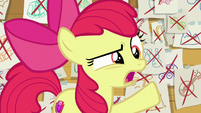 "Apple Bloom ""we're not hanging out anymore!"" S6E4"