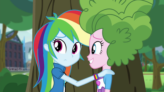 File:Rainbow and Pinkie hiding EG3.png
