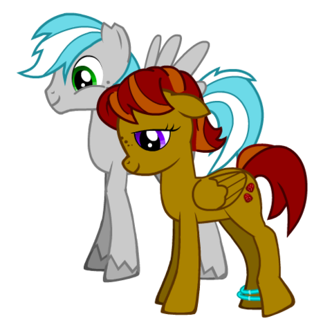 File:FANMADE SilverBolt both OCs.png