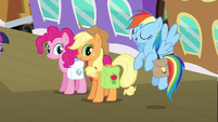 "Rainbow Dash ""of course they're excited"" S03E12"