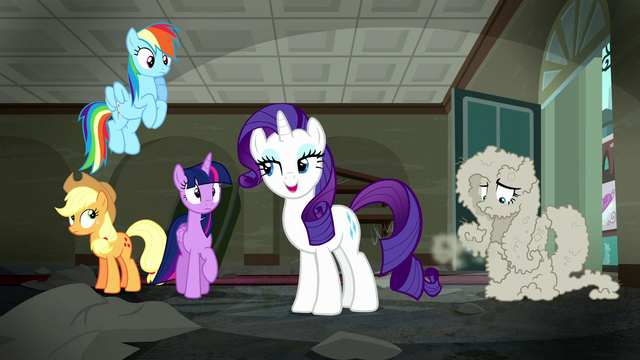 """File:Rarity """"my sales associate after that"""" S6E9.png"""
