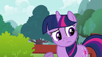 Twilight Sparkle pondering S2E21