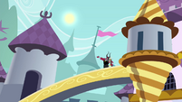 Tirek and Discord on a bridge S4E26