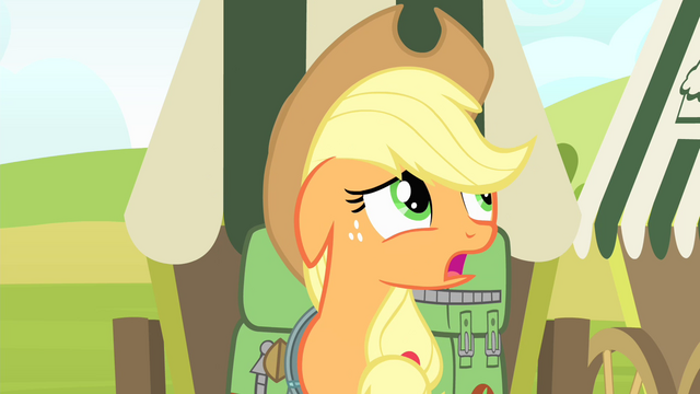 "File:Applejack 'I'm just not so sure I am"" S4E17.png"