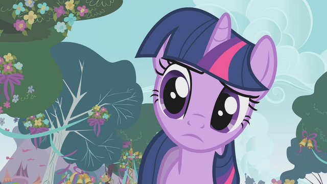 File:Twilight asking about the banner S1E10.png
