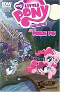 MLPFIM Pinkie Pie Micro Jetpack Comics RE Cover