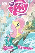 MLPFIM Fluttershy Micro Jetpack Comics RE Cover