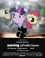Twilight Sparkle saving private Bloom