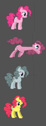 Fighting is Magic Pinkie Pie concept art