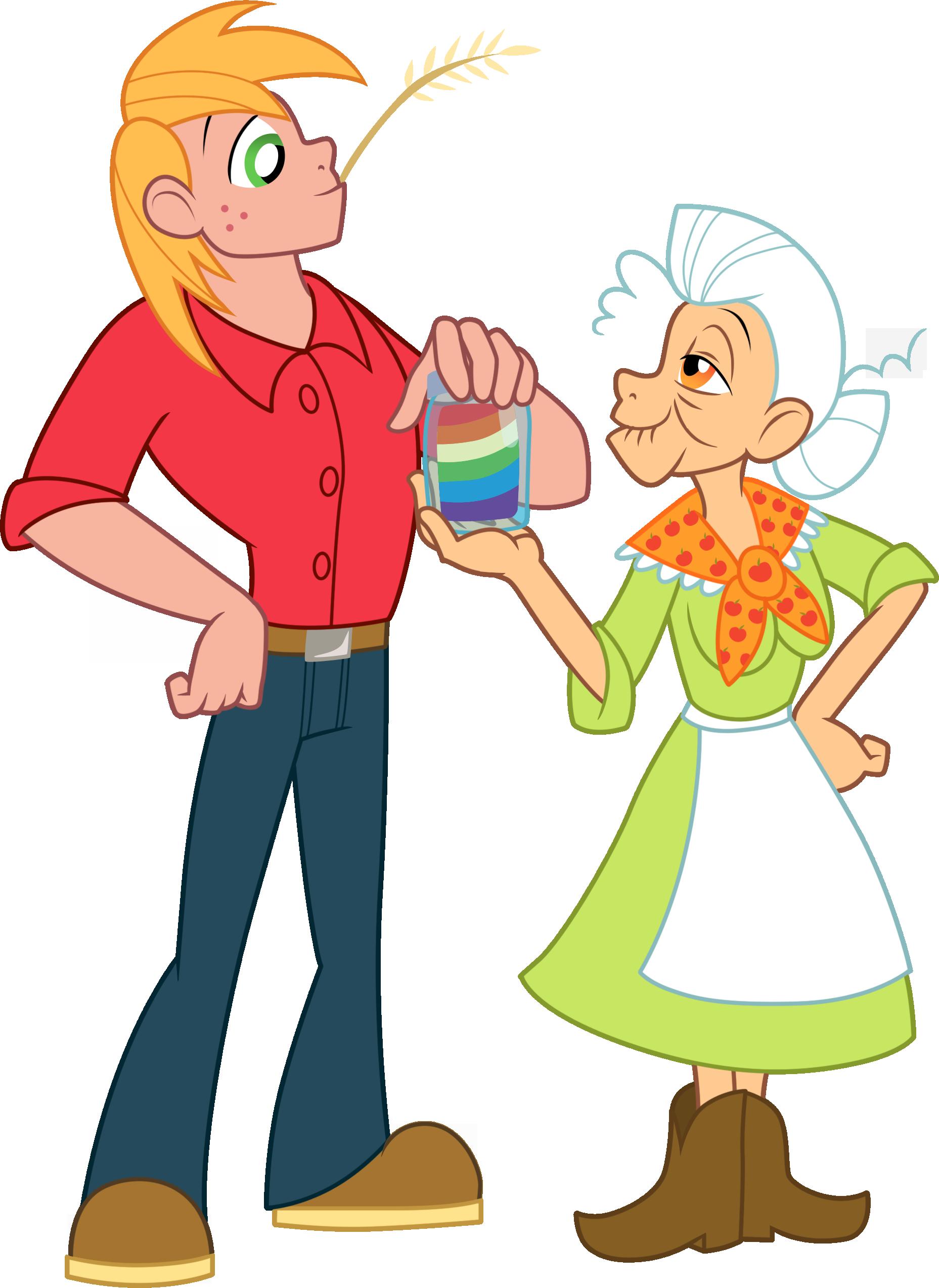 Image Big Mac and Granny Smith