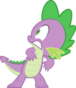 Spike scared by TwilightPoint