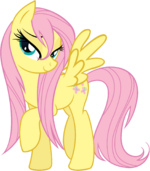 88590 - fluttershy wet hair wet mane