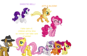 Fluttershy loses the fillies and pinkie pie