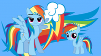 Rainbow and fillydash