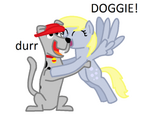 Scooby Dum and Derpy Hooves
