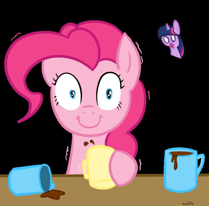 Pinkie pie discovers coffee my little pony fan labor wiki fandom