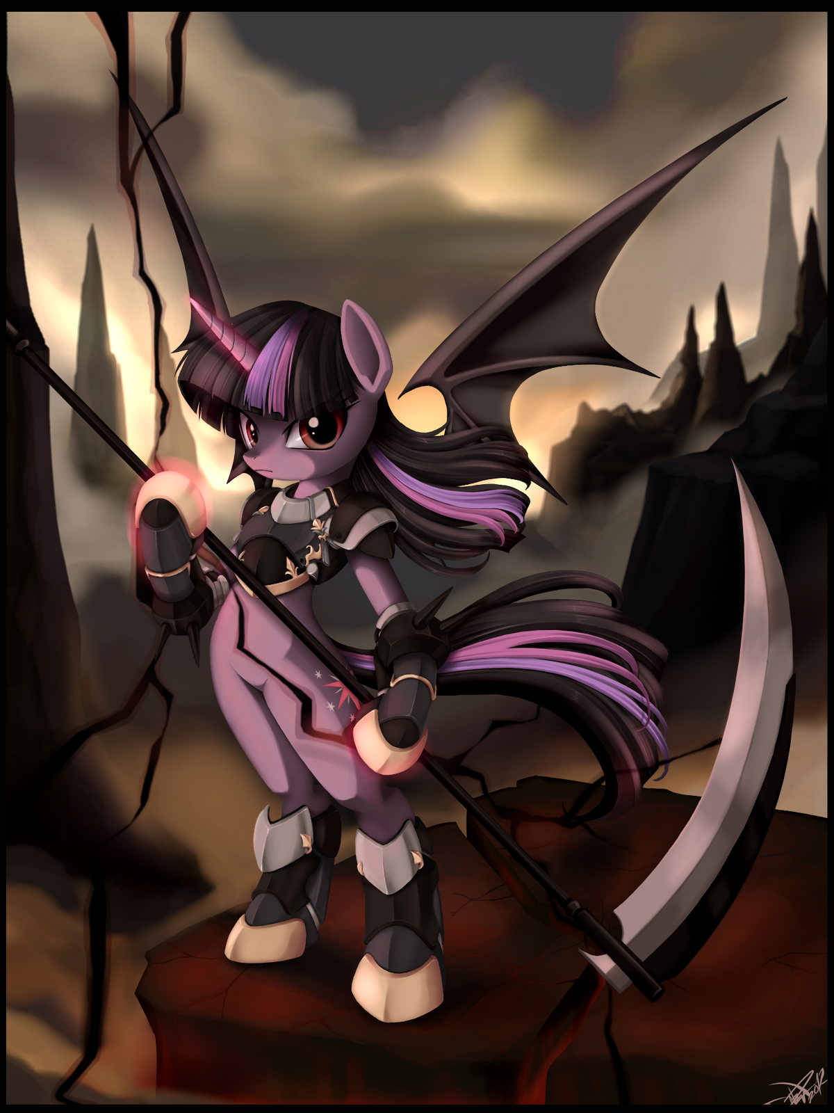 Image - Vampire Twilight Sparkle.png | My Little Pony Fan ...