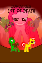 Cupcakes Life Of Death Poster
