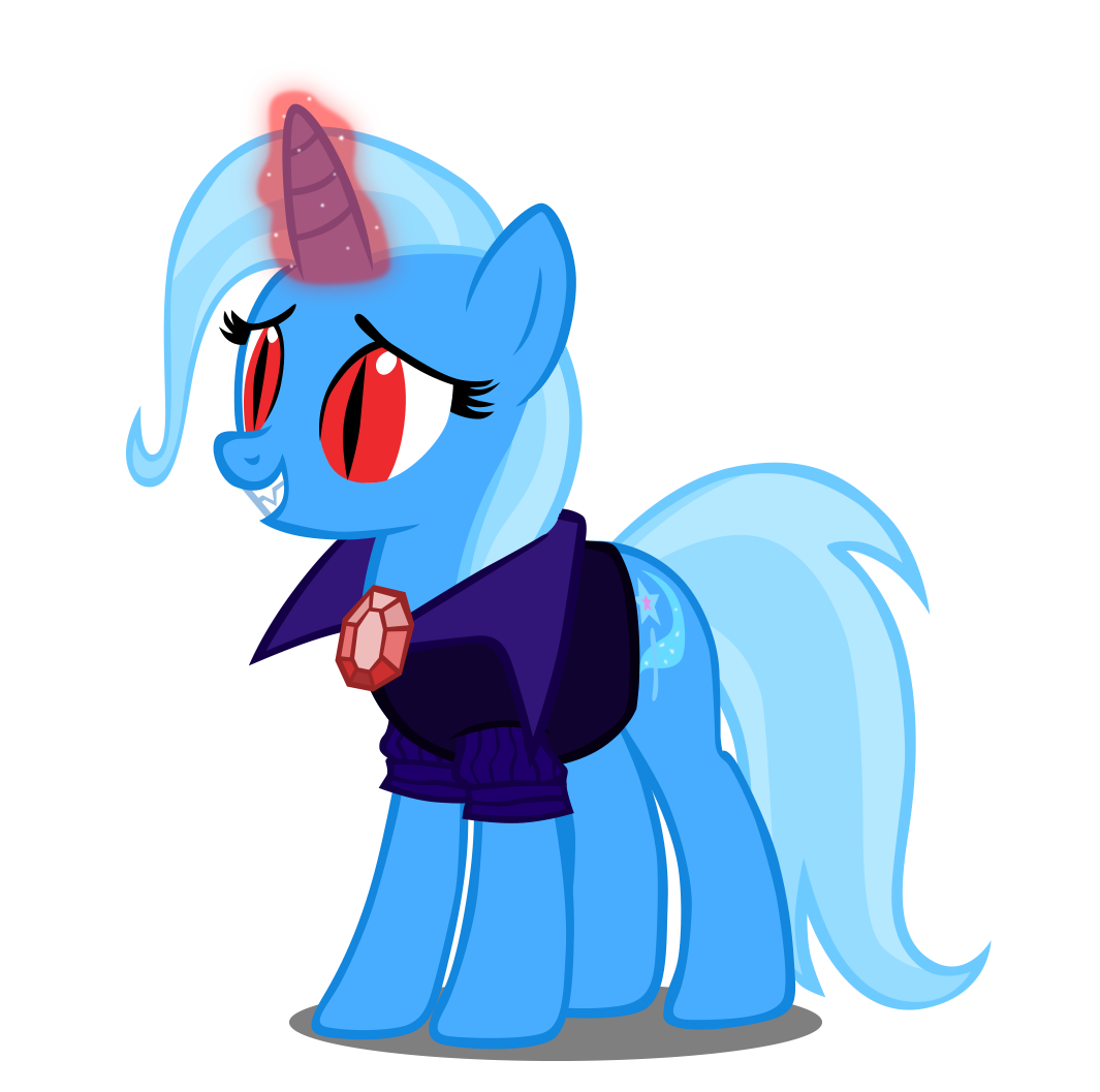 Image Vampire Trixie By Artist Navitaserussirus Png My Little Pony Fan Labor Wiki Fandom