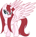 91521 - Alicorn Lauren Faust OC wet mane
