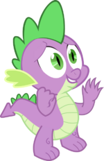 Spike the dragon by jeurobrony