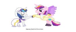 Gleaming Shield and Prince Bolero