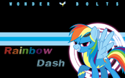 Rainbow Dash wallpaper by artist-l13000