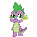 Spike the dragon by charlockle