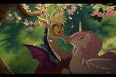 Discord celestia kiss