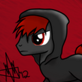 Carmine OC pony