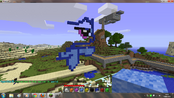 FANMADE Rainbow Dash Minecraft building 1