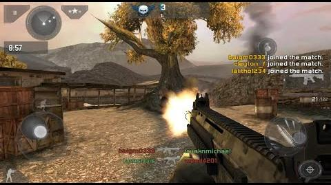 modern combat 3 android games free